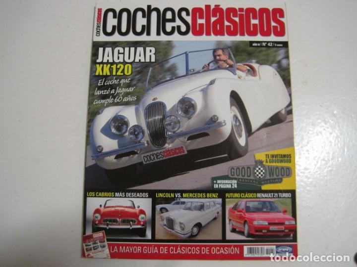 Coches y Motocicletas: COCHES CLASICOS: JAGUAR XK 120; LINCOLN CONTINENTAL; MERCEDES 220S; RENAULT 21 TURBO; AUSTIN 10/4 - Foto 1 - 146595534