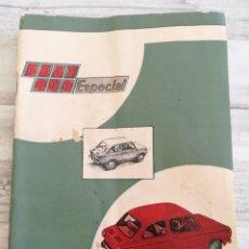 Coches y Motocicletas: SEAT 850 ESPECIAL - MANUAL DE USO Y ENTRETENIMIENTO (PRIMERA EDICIÓN, 1971) - ILUSTRADO. Lote 146639374