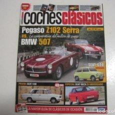 Coches y Motocicletas: COCHES CLASICOS: SEAT 1430; BMW 507; PEGASO Z102; SEAT 600; SEAT ANIBAL; FORD TORINO; FORD FAIRLANE. Lote 146702378