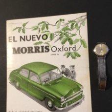 Coches y Motocicletas: ANTIGUO CATÁLOGO COCHE MORRIS OXFORD . Lote 146716010