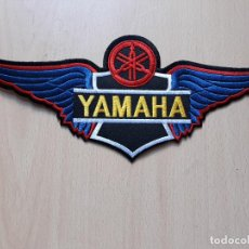 Coches y Motocicletas: PARCHE DE TELA BORDADO YAMAHA- MOTOS MOTEROS . Lote 147016086