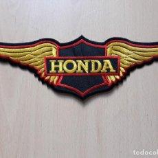 Coches y Motocicletas: PARCHE DE TELA BORDADO HONDA- MOTOS MOTEROS. Lote 147016330