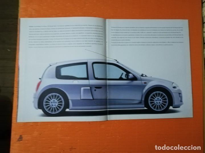 Coches y Motocicletas: CATÁLOGO RENAULT SPORT CLIO V6. 12 PÁGINAS - Foto 3 - 147389398