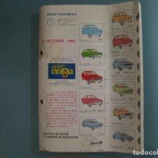 Coches y Motocicletas: GUIA TASACION DESPIECE. Lote 147775598