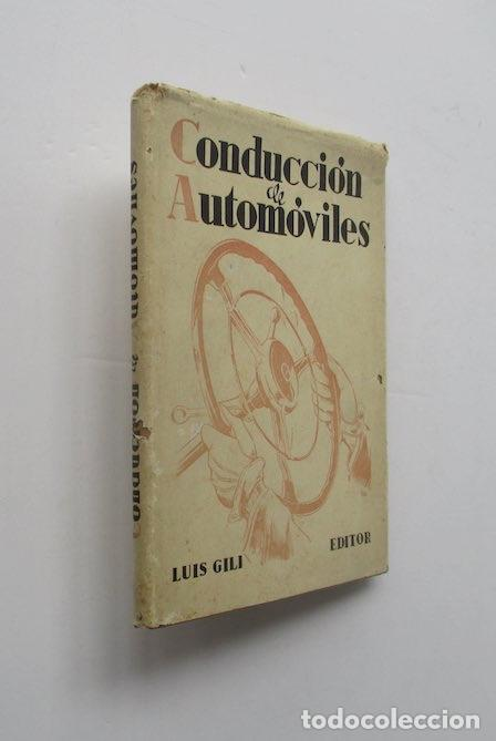 CONDUCCION DE AUTOMOVILES (Coches y Motocicletas Antiguas y Clásicas - Catálogos, Publicidad y Libros de mecánica)