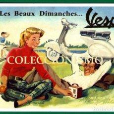 Coches y Motocicletas: VESPA - PUBLICIDAD IMÁGENES MOTOR MOTOS MOTOCICLETAS MOTOCICLISMO. Lote 147876034