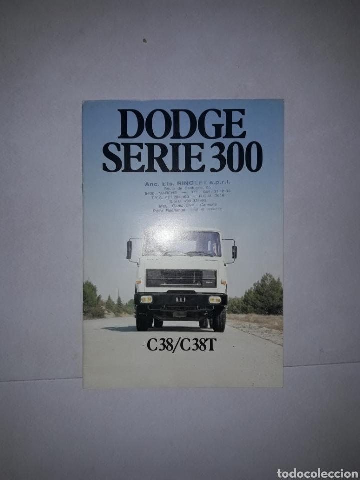 CATALOGO DODGE BARREIROS MOTOR CUMMINS PARA EXPORTACION (Coches y Motocicletas Antiguas y Clásicas - Catálogos, Publicidad y Libros de mecánica)
