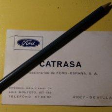 Coches y Motocicletas: TARJETA CONCESIONARIO FORD ESPAÑA CATRASA. Lote 148092930