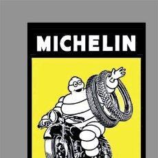 Coches y Motocicletas: AZULEJO 40X25 PUBLICIDAD MICHELIN. Lote 148450258