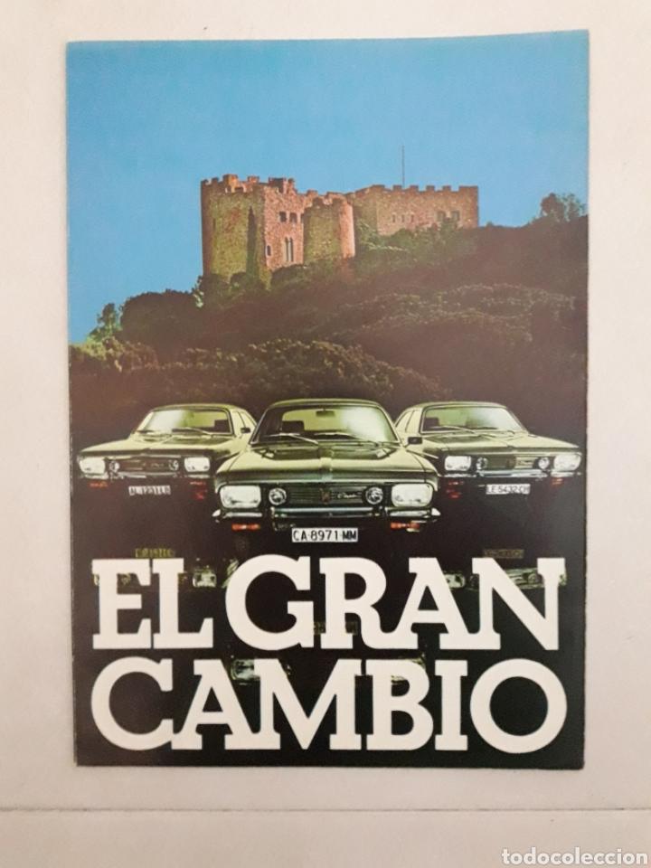 CHRYSLER 180 DODGE BARREIROS (Coches y Motocicletas Antiguas y Clásicas - Catálogos, Publicidad y Libros de mecánica)