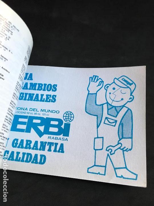 Coches y Motocicletas: catalogo manual de instrucciones original derbi variant start y sport ciclomotor automatico 1989 - Foto 3 - 44284037
