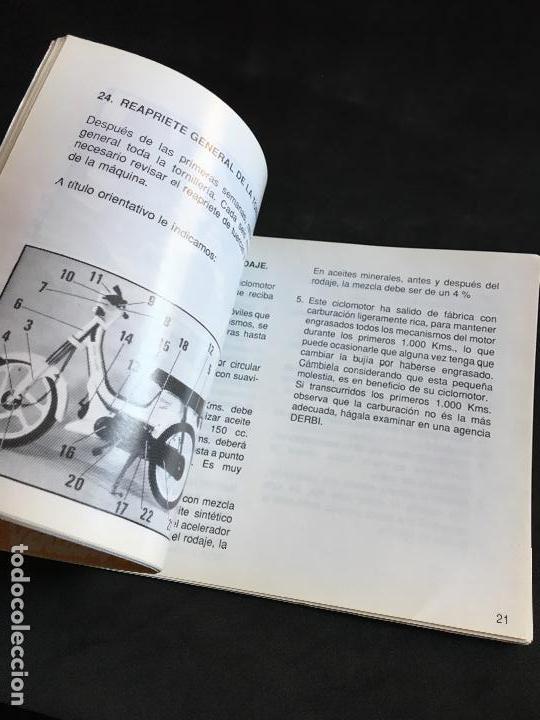Coches y Motocicletas: catalogo manual de instrucciones original derbi variant start y sport ciclomotor automatico 1989 - Foto 4 - 44284037