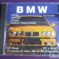 Coches y Motocicletas: BMW CD ROM PRECINTADO MULTIMEDIA - HISTORIA - PERSONAJES - DEPORTES - MODELOS ETC.... Lote 148875250