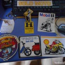 Coches y Motocicletas: LOTE ADHESIVOS PEGATINA MOTO. Lote 148924454