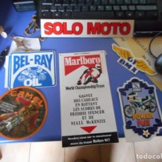 Coches y Motocicletas: LOTE ADHESIVO PEGATINA MOTO. Lote 148924666