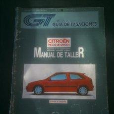 Coches y Motocicletas: CITROËN VISA / C15 / AX / BX / ZX / XANTIA MANUAL DE TALLER AUTOMÓVIL COCHE AUTOMOVILISMO.. Lote 148997190