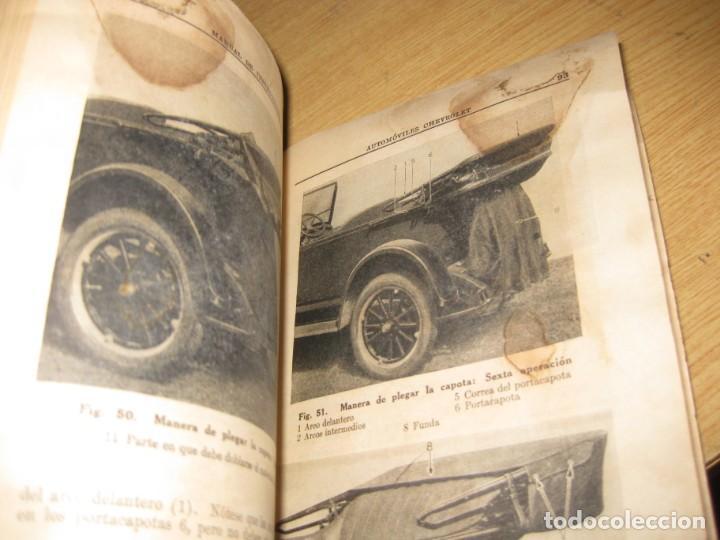 Coches y Motocicletas: precioso catalogo manual de instrucciones automoviles chevrolet serie AB año 1928 general motors - Foto 3 - 149861942