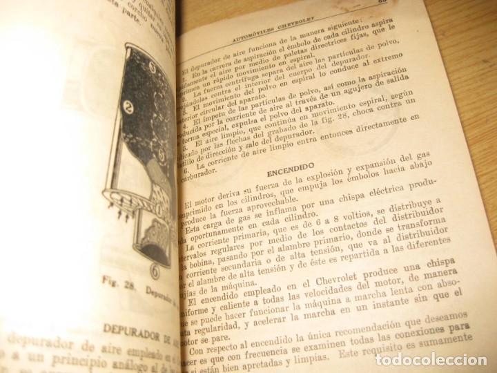 Coches y Motocicletas: precioso catalogo manual de instrucciones automoviles chevrolet serie AB año 1928 general motors - Foto 9 - 149861942
