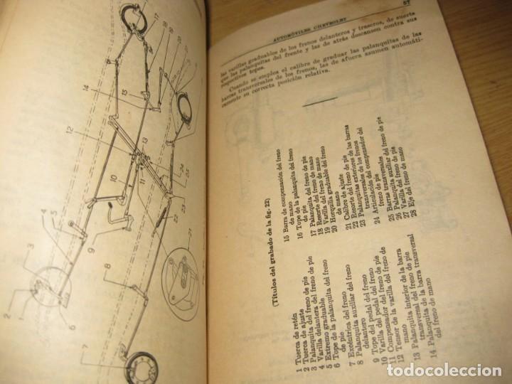 Coches y Motocicletas: precioso catalogo manual de instrucciones automoviles chevrolet serie AB año 1928 general motors - Foto 11 - 149861942