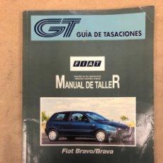 Coches y Motocicletas: FÍAT BRAVO/BRAVA. MANUAL DE TALLER TOMO I (ENERO 1998). GUÍA DE TASACIONES.. Lote 149993060