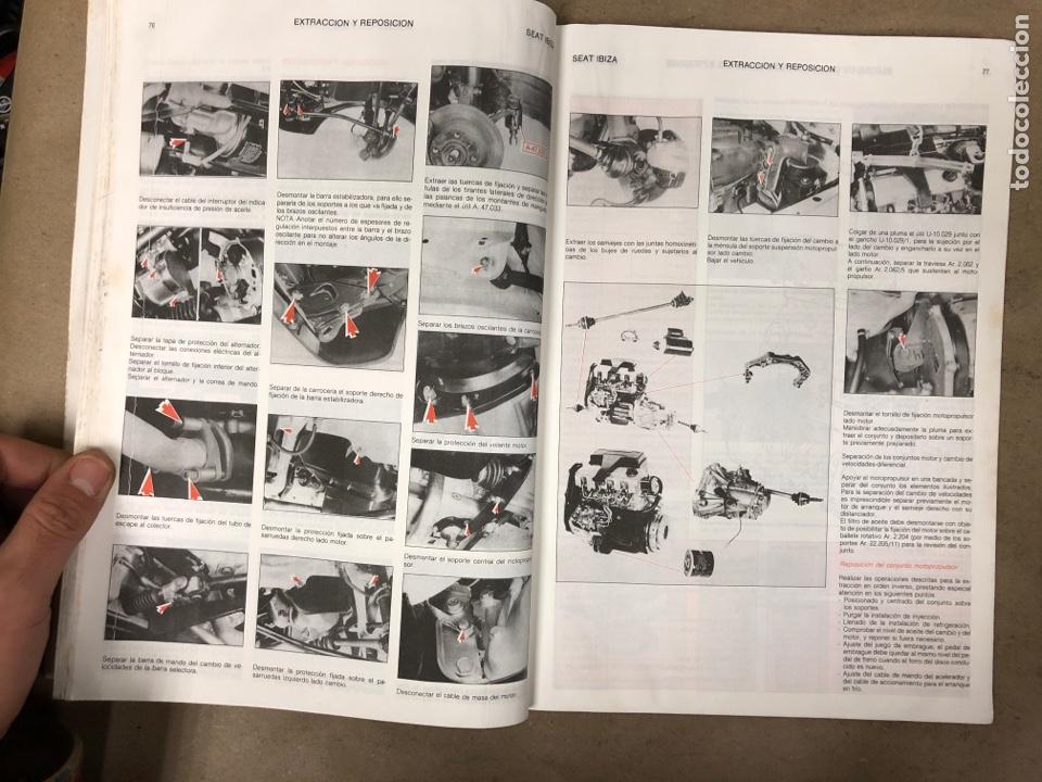 Coches y Motocicletas: SEAT IBIZA. MANUAL DE TALLER. GUÍA DE TASACIONES DICIEMBRE 1991. - Foto 4 - 149996990