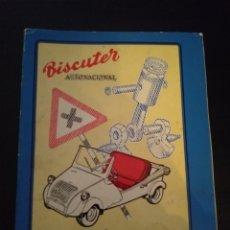 Coches y Motocicletas: LIBRO DE INSTRUCCIONES BISCUTER. Lote 150028745