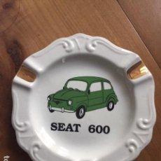 Coches y Motocicletas: CENICERO SEAT 600. Lote 153708564