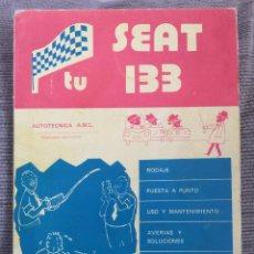 Coches y Motocicletas: TU SEAT 133 AUTOTÉCNICA AML. Lote 150894613