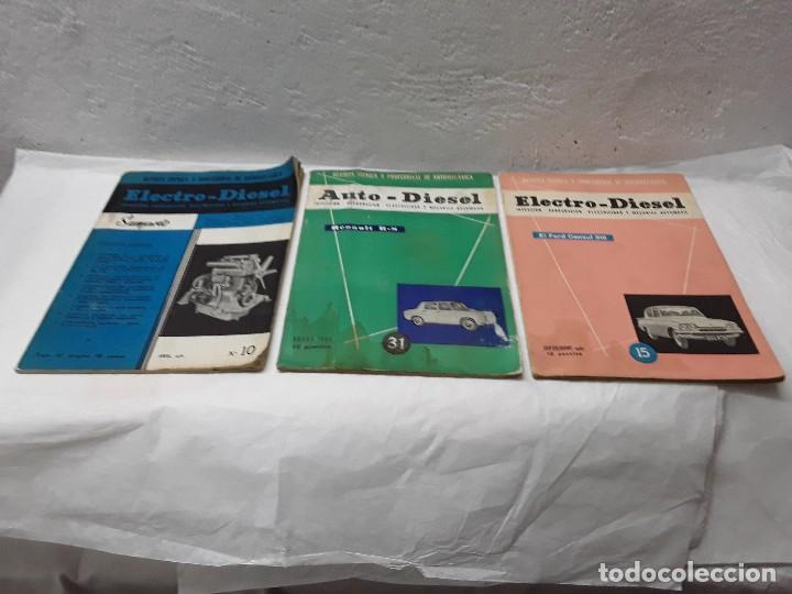 ELECTRO DIESEL AUTO DIESEL (Coches y Motocicletas Antiguas y Clásicas - Catálogos, Publicidad y Libros de mecánica)