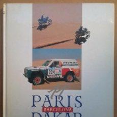 Coches y Motocicletas: RALLY PARÍS DAKAR BARCELONA LIBRO 1989. Lote 151413914