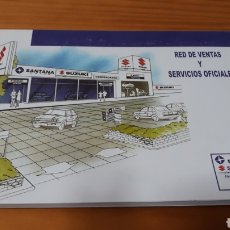 Coches y Motocicletas: MANUAL RED VENTAS Y SERVICIOS OFICIALES SUZUKI. Lote 151626782