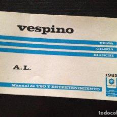 Coches y Motocicletas: VESPINO AL 1985. Lote 151852890