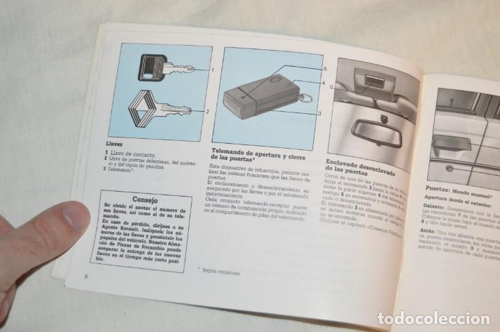 Coches y Motocicletas: VINTAGE - ANTIGUO MANUAL VEHÍCULO - RENAULT 9 - 6ª ED ESPAÑOLA - JULIO DE 1988 - ENVIO 24H - Foto 7 - 152043462