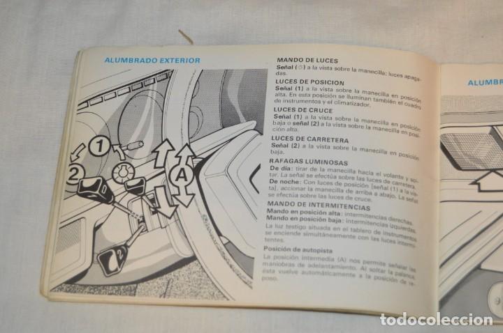 Coches y Motocicletas: VINTAGE - ANTIGUO MANUAL VEHÍCULO - TALBOT 150 - INSTRUCCIONES DE USO - ENVIO 24H - Foto 7 - 152043706
