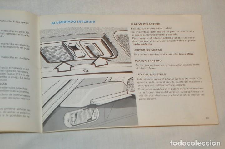 Coches y Motocicletas: VINTAGE - ANTIGUO MANUAL VEHÍCULO - TALBOT 150 - INSTRUCCIONES DE USO - ENVIO 24H - Foto 8 - 152043706