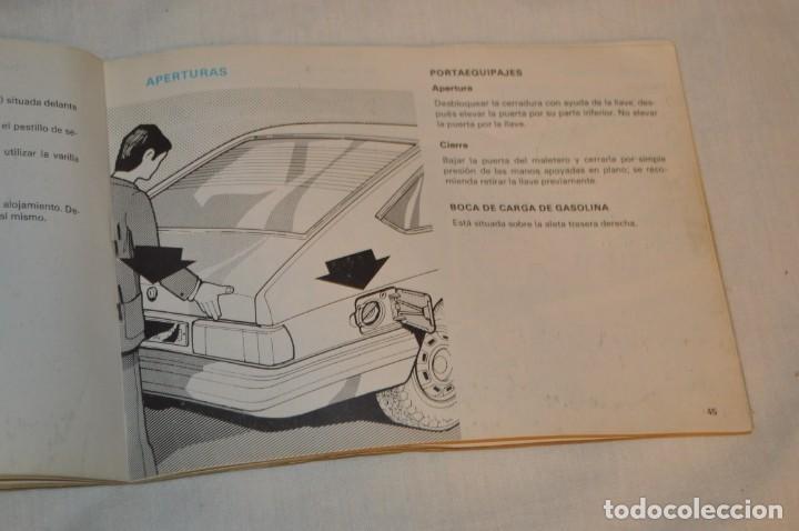 Coches y Motocicletas: VINTAGE - ANTIGUO MANUAL VEHÍCULO - TALBOT 150 - INSTRUCCIONES DE USO - ENVIO 24H - Foto 9 - 152043706