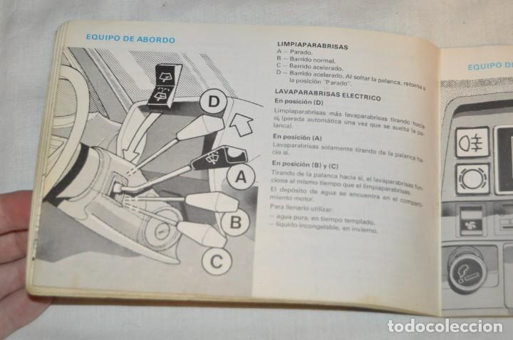 Coches y Motocicletas: VINTAGE - ANTIGUO MANUAL VEHÍCULO - TALBOT 150 - INSTRUCCIONES DE USO - ENVIO 24H - Foto 12 - 152043706