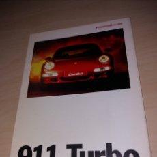 Coches y Motocicletas: CATÁLOGO FOLLETO PORSCHE 911 TURBO. Lote 152060909