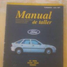 Coches y Motocicletas: GUIA DE TASACIONES-MANUAL DE TALLER FORD KA FIESTA ESCORT ORION MONDEO JULIO 1997.. Lote 152494486