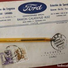 Coches y Motocicletas: FORD, RAMON CALATAYUD RUIZ, CONCESIONARIO OFICIAL DE JAEN.. Lote 152587238