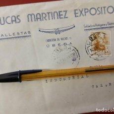 Coches y Motocicletas: LUCAS MARTINEZ EXPOSITO, BALLESTAS Y REPARACION DE AUTOMOVILES. UBEDA.. Lote 152587578