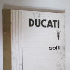 Coches y Motocicletas: DUCATI 50 TS - CATALOGO PIEZAS DE RECAMBIO - 24 PAGINAS. Lote 152636178