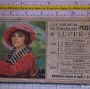 Coches y Motocicletas: PUBLICIDAD AUTOMÓVIL HUDSON SUPER SIX. AÑO 1916 SEVILLA 1917 MADRID 1918 MÁLAGA. PAPEL SECANTE. 1750. Lote 153265278