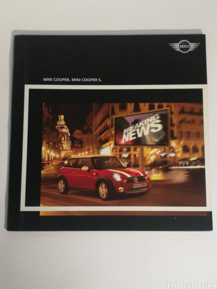 CATÁLOGO MINI COOPER S (Coches y Motocicletas Antiguas y Clásicas - Catálogos, Publicidad y Libros de mecánica)
