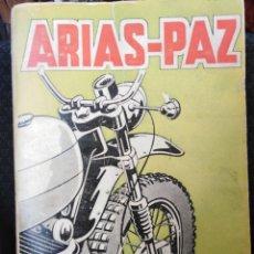 Coches y Motocicletas: LIBRO DE ARIAS PAZ-MOTOCICLETAS-EDICIÓN 21. Lote 153532610