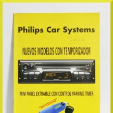 Coches y Motocicletas: CATALOGO PHILIPS CAR SYSTEMS. Lote 153707674