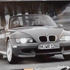 Coches y Motocicletas: BMW M ROADSTER · 14 FOTOGRAFÍAS ORIGINALES PUBLICIDAD 18 X 24 CM. COPIAS VINTAGE 1996. Lote 154025942