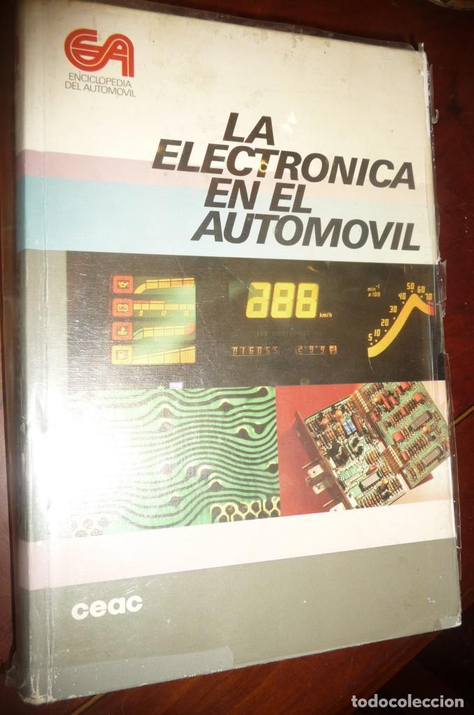 Coches y Motocicletas: ENCICLOPEDIA CEAC DEL AUTOMOVIL, COMPLETA 10 VOLUMENES, 1990, BUENA CONSERVACION - Foto 3 - 154349078