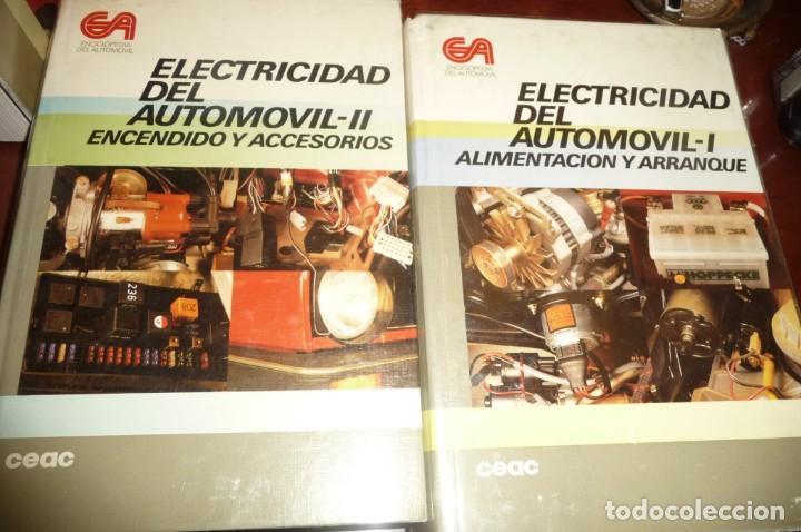 Coches y Motocicletas: ENCICLOPEDIA CEAC DEL AUTOMOVIL, COMPLETA 10 VOLUMENES, 1990, BUENA CONSERVACION - Foto 4 - 154349078
