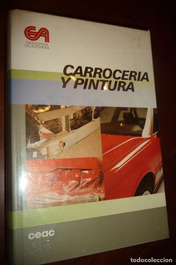 Coches y Motocicletas: ENCICLOPEDIA CEAC DEL AUTOMOVIL, COMPLETA 10 VOLUMENES, 1990, BUENA CONSERVACION - Foto 5 - 154349078